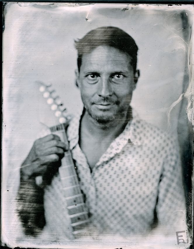 Franck Rondot Photographe   061   4X5  ambrotype  collodion  humide  scann  tintype